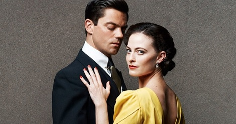 Lara-Pulver-and-Dominic-Cooper-in-Fleming