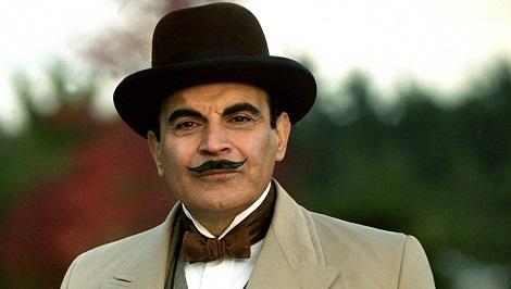 Poirot moustache
