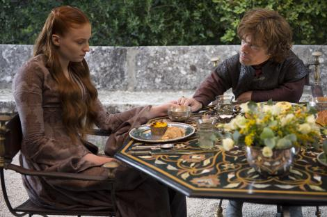 Sophie-Turner-as-Sansa-Stark-Peter-Dinklage-as-Tyrion-Lannister_photo-Macall-B.Polay_HBO