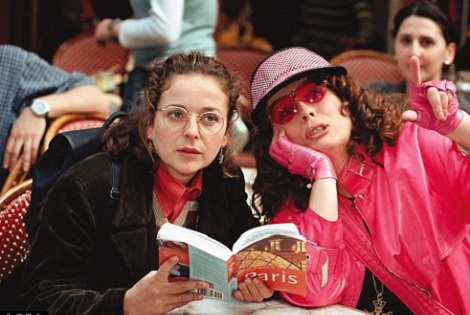 julia sawalha and Jennifer saunders in abfab
