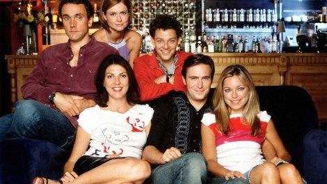 Les acteurs de la série Coupling.