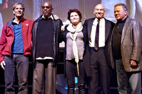 All the Star Trek captains
