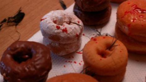bloody donut