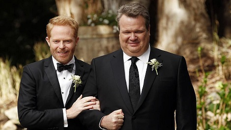 Modern Family Wedding