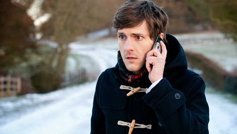 Programme Name: The Wrong Mans - TX: n/a - Episode: Episode 1 (No. Episode 1) - Embargoed for publication until: n/a - Picture Shows:  Sam (MATHEW BAYNTON) - (C) BBC - Photographer: Des Willie