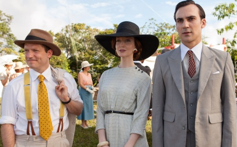 MASTERPIECE Indian Summers Sundays, September 27 - November 22, 2015 at 9pm ET Part Three Sunday, October 11, 2015 at 9pm ETSooni gets into trouble. Witness tampering runs riot. Ramu confronts Armitage at the annualfair. Dougie confesses to Sarah. Shown from left to right: Rick Warden as Ronnie, Olivia Grant as Madeleine, and Henry Lloyd-Hughes as Ralph (C) New Pictures and Channel 4 for MASTERPIECE in association with All3Media International This image may be used only in the direct promotion of MASTERPIECE. No other rights are granted. All rights are reserved. Editorial use only.